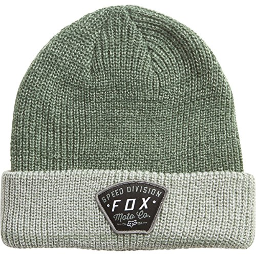 Fox Racing Mens Sno Cat Roll Beanie Hats One Size Heather Fatigue (Fox Beanie For Men)