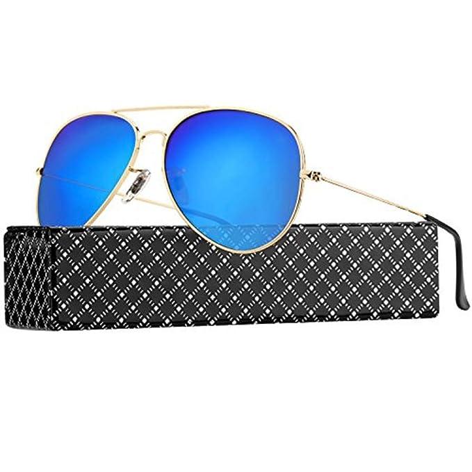 PROKING Gafas de Sol mujer hombre Polarizadas Retro Estilo gafas UV400 gafas de sol Gafas Vintage