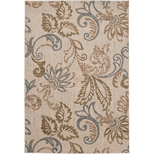 Deacon Beige, Brown and Gray Transitional Area Rug 2