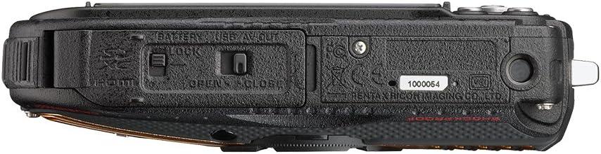 10 Degrees 04662 RICOH Waterproof Digital Camera WG-5GPS Orange Waterproof 14m Withstand Shock 2.2m Cold
