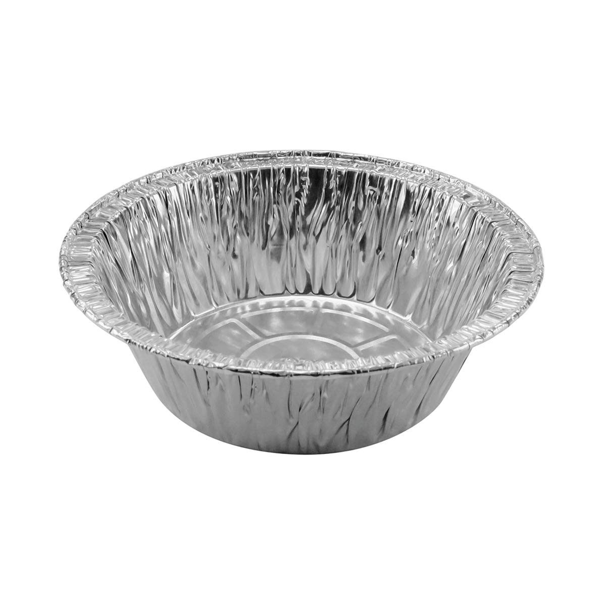 Disposable Aluminum 5 3/4 Extra Deep Meat/Pot Pie Pan #2400 (1,000) by KitchenDance (Image #4)