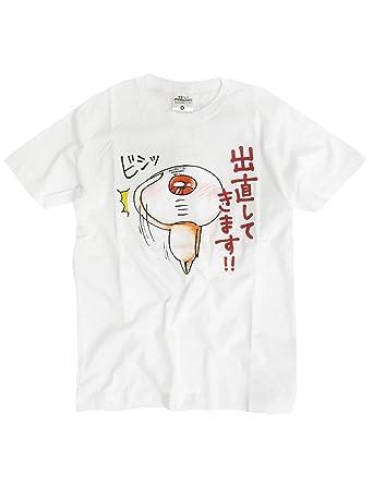 Amazon ゆるいゲゲゲの鬼太郎 目玉おやじ 半袖 Tシャツ プリント