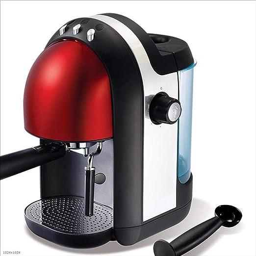 NIHAOA Grano a la máquina de café de la Taza Automático de la máquina de café, Goteo Cafetera, hogar, Oficina, Comercial, Puede sostener 5-10 Copas (Rojo): Amazon.es: Hogar