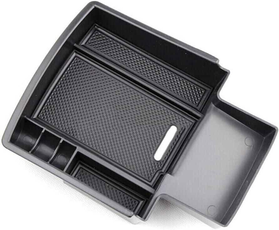 DEF Storage Box Container Compatible with Audi Black, Audi Q5 armrest Box