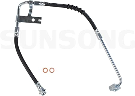 Brake Hydraulic Hose-GTS Rear Sunsong North America 2201673