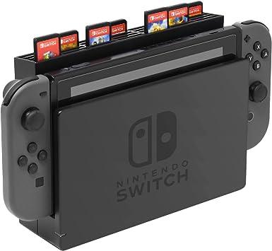 Juego de almacenamiento de tarjetas con 28 ranuras para tarjetas de juegos para Nintendo Switch: Amazon.es: Electrónica