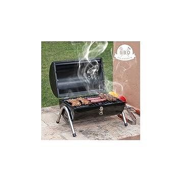 Barbacoa de Carbón Cilindro BBQ Classics: Amazon.es: Deportes y aire libre