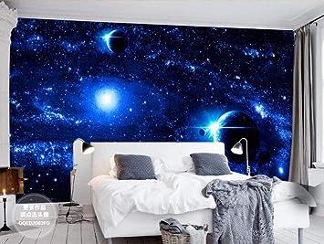 Amazon Com Mural 3d Photo Wallpaper Universe Star Wars Ktv Bar 3d Wallpapers For Walls Boys For Bedroom Wallpapers Art Decoration 300x210cm Xxl Kitchen Dining