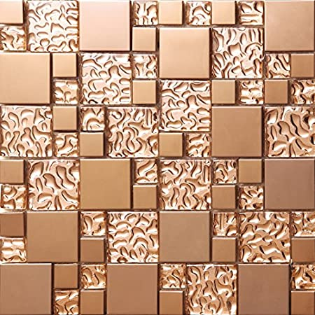 colors optional stainless steel home wall mosaic tiles luxury glass