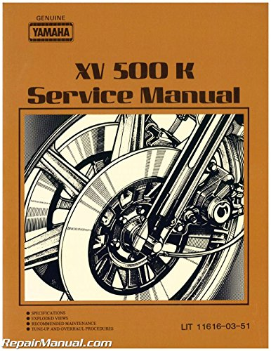 Yamaha Virago Manual - 9