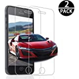 Verre Trempé iPhone SE 5 5S 5C,[2 Pièces] Genki Ultra Clear Extreme Résistant Protection écran Film Protection iPhone SE 5 5S 5C