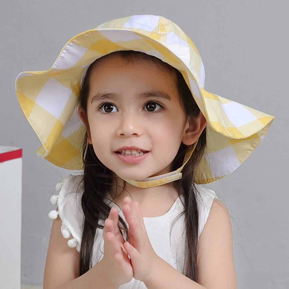 Richea Girls Kids Bucket Boonie Sun Hat UV Sun Protection Hats Summer Play Hat