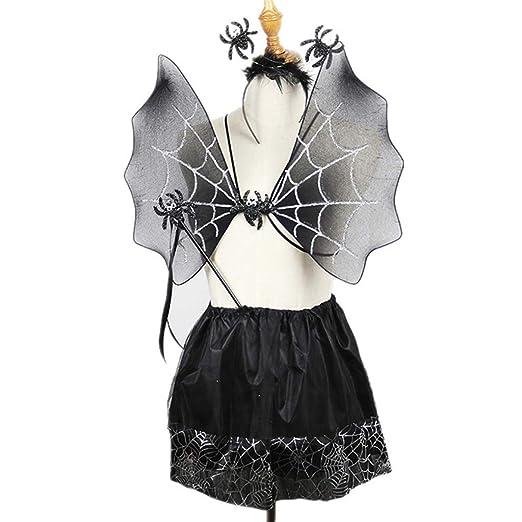 Museourstyty - Falda para disfraz de hada para niñas, con alas y ...