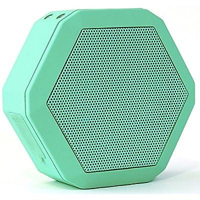 Boombotix - Boombot REX 2.0, Wireless Ultraportable Weatherproof Bluetooth Speaker, Woodgrain