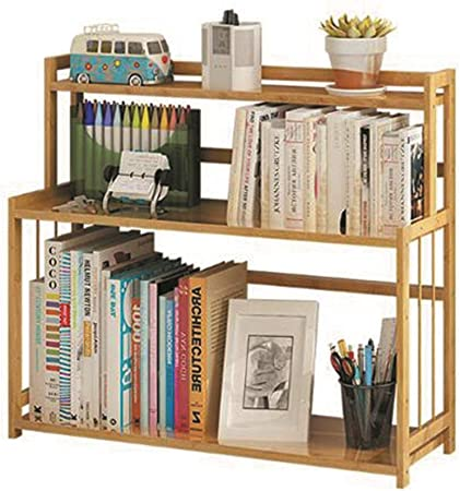 Amazon Com Yqq Shelf Simple Bamboo Bookcase Modern