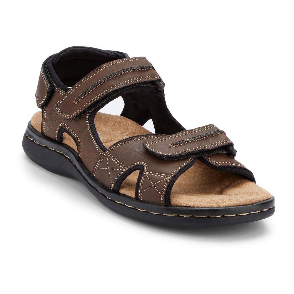 Dockers Footwear Mens Shoes Newpage Sandals, Briar, 12 EE US