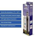 FREESEA Aquarium Fish Tank Heater Protective Sleeve LED Temperature Display