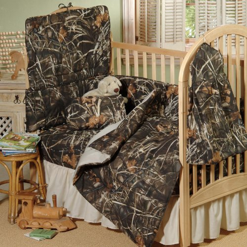 Realtree Max-4 Crib 2-Piece Set