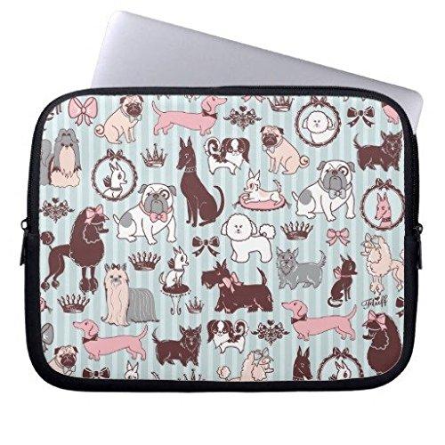 Neoprene Laptop Sleeve Eratio Doggy Boudoir 15 Inch MacBook Air Case MacBook Pro Sleeve and 15 Inch Laptop Bag