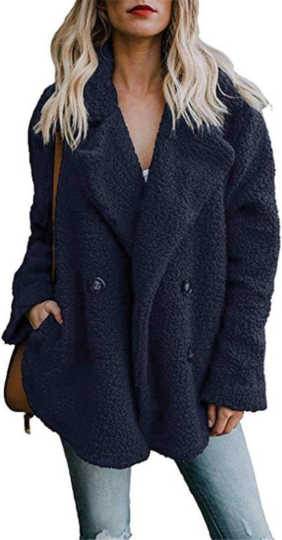Nuovo Donne Giacche Invernali Donne Cardigan Ladies Caldo Maglione in Pile Faux Cappotto con Cappuccio Outwear Blouson Femme S-3Xl Verde