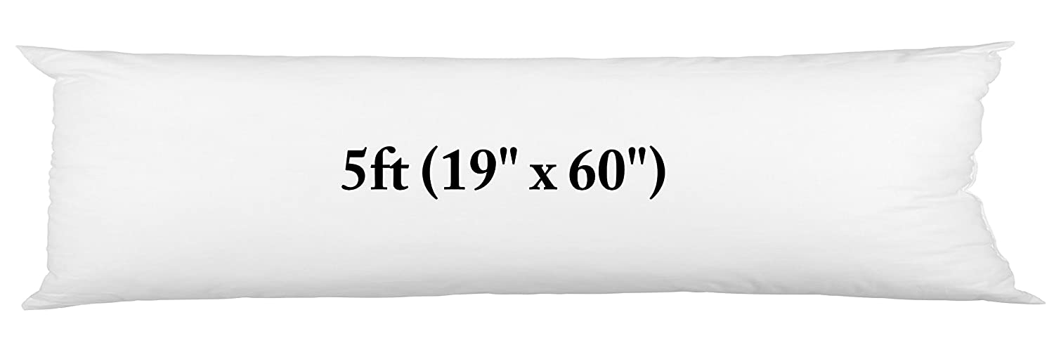 Body Pillow 19x60+ Free Pillow Case by Softouch Larra Limited