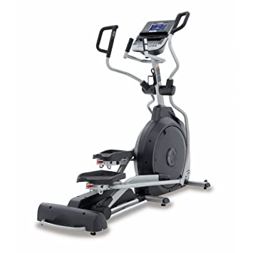 Spirit Elliptical XE 395 - Bicicleta elíptica, Cross Trainer con sensores de pulso de mano