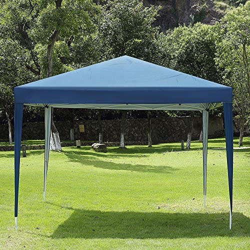 CharaVector 10 x 10 ft Heavy Duty Ez Pop Up Gazebo Canopy Tent