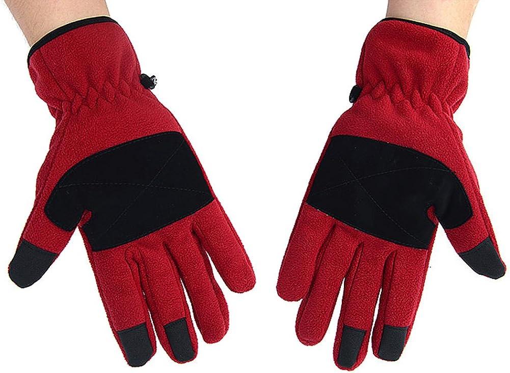 Dopobo – Forro polar Guantes de pantalla táctil touch Gloves Para Guantes Touch Screen para smartphones Rojo rojo: Amazon.es: Ropa y accesorios