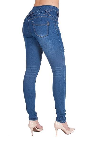 Amazon.com: Arco Iris de la mujer alta cintura Butt Lifter ...