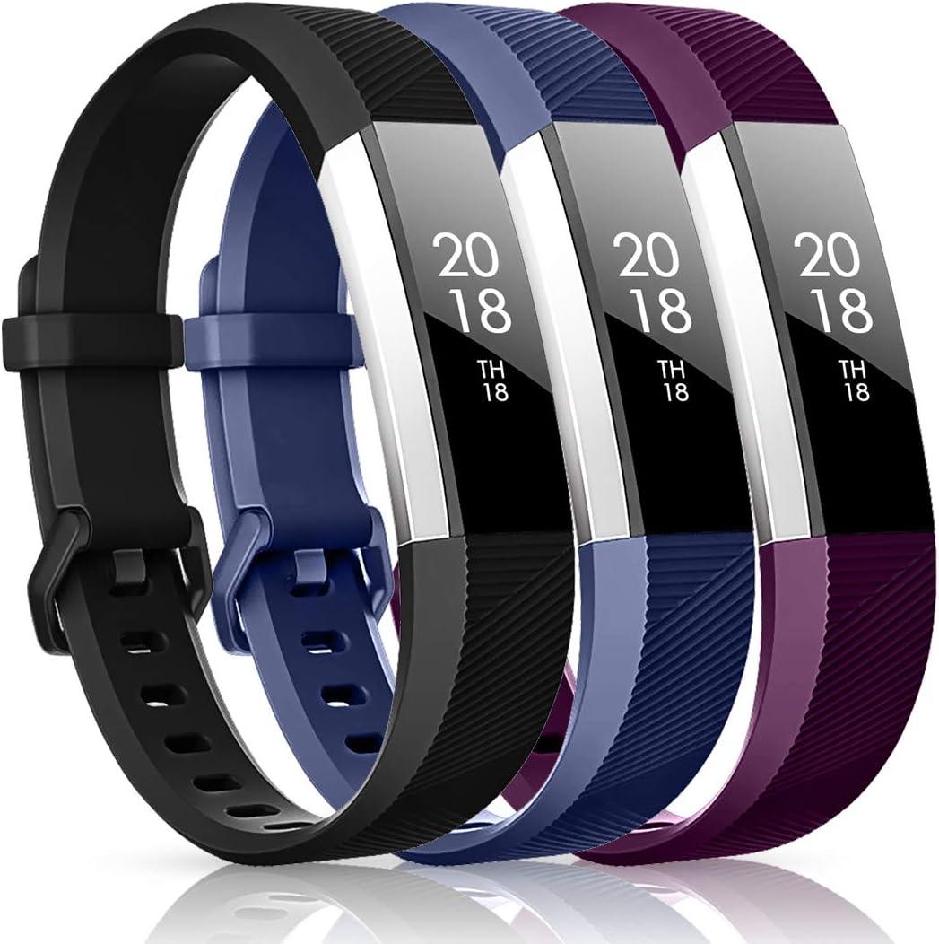 Mallas para reloj Fitbit Alta, Alta HR, Ace (3 unidades)