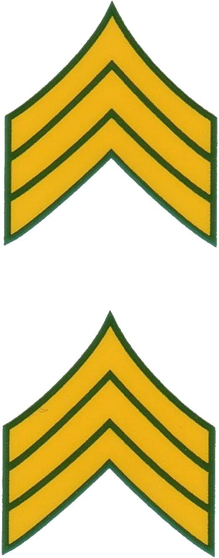 Army E-5 Sergeant Mini Decals Stickers 1 1//8
