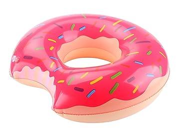 Tumbona hinchable Donut Lianshi tubo flotador piscina juguete por diámetro 35 cm: Amazon.es: Juguetes y juegos