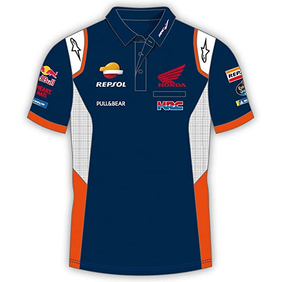 REPSOL Polo Homme Team Honda Replica