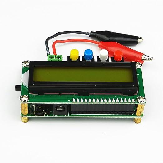 Topker LC100-A Num/érique LCD Haute Pr/écision Inductance Capacit/é L//C M/ètre Testeur Condensateur Mini Interface USB