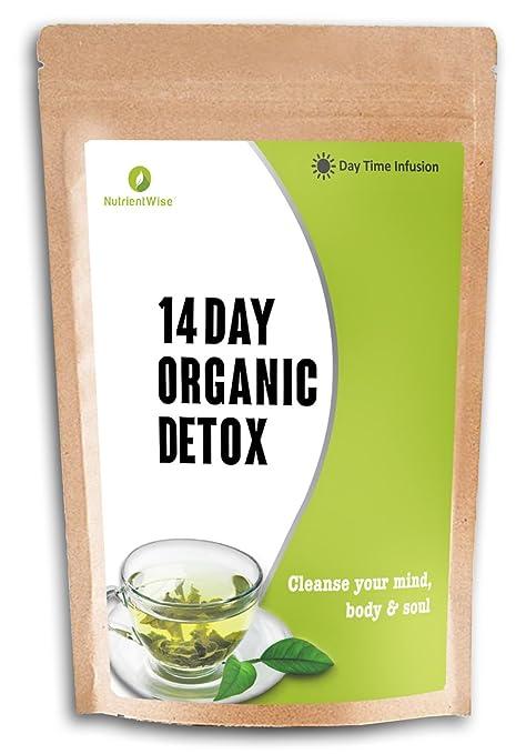 67 opinioni per NUTRIENT WISE Orgánico Detox Té Verde De Hierbas Naturales De Pérdida De Peso