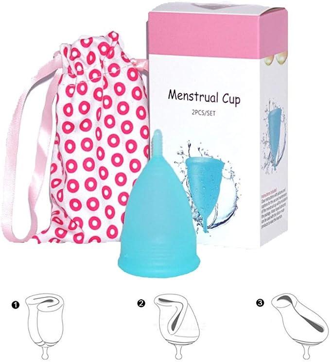 JYPCBHB Copa Menstrual Ms Recomendada para Mujeres Silicona ...