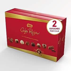 Nestlé Caja Roja Bombones de Chocolate - Bombones 2x800g: Amazon.es: Alimentación y bebidas