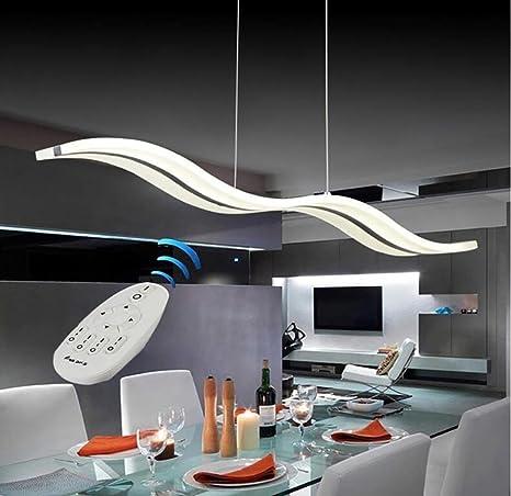 LED regulable Lámpara colgante contemporánea araña techo ...