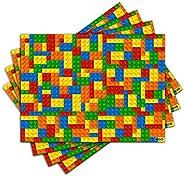 Jogo Americano - Blocos de Montar com 4 peças - 268Jo