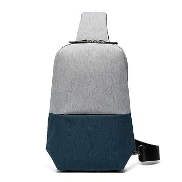 cfb9c0d3b010 Amazon.com: Chest Bag Korean Version of The Shoulder Messenger Bag ...