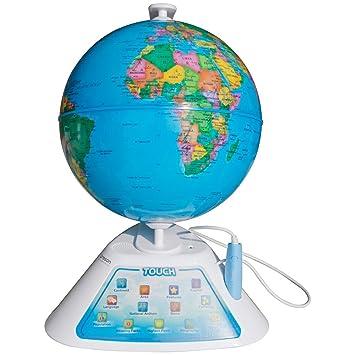 Amazoncom Oregon Scientific Smart Globe Discovery Educational - World geography