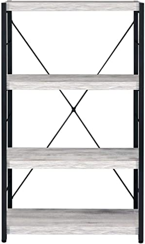 Editors' Choice: Knocbel Industrial 4-Tier Bookcase Storage Book Shelf Display Rack Stand