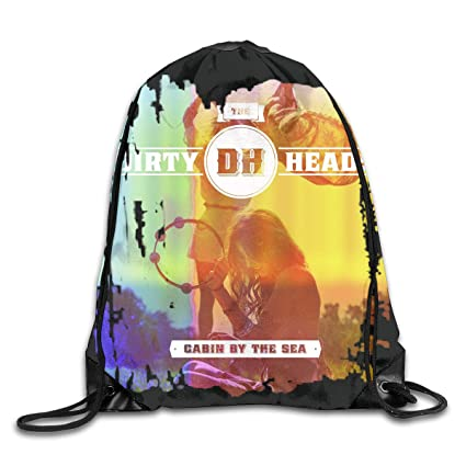 5ec0604396 AlexisW Dirty Heads Cabin by The Sea Backpack Gymsack Drawstring Bags Gym  Sack Bag for Men