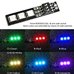 RGB LED Light Board for RC Drone, RC Car and DIY + 4PCS Sponge Landing Pad …