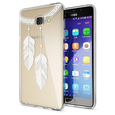 Samsung Galaxy A5 2016 Funda Carcasa de NALIA, Protectora Movil TPU Silicona Ultra-Fina Gel Transparente, Cubierta Goma Bumper Cover Case Clear para ...