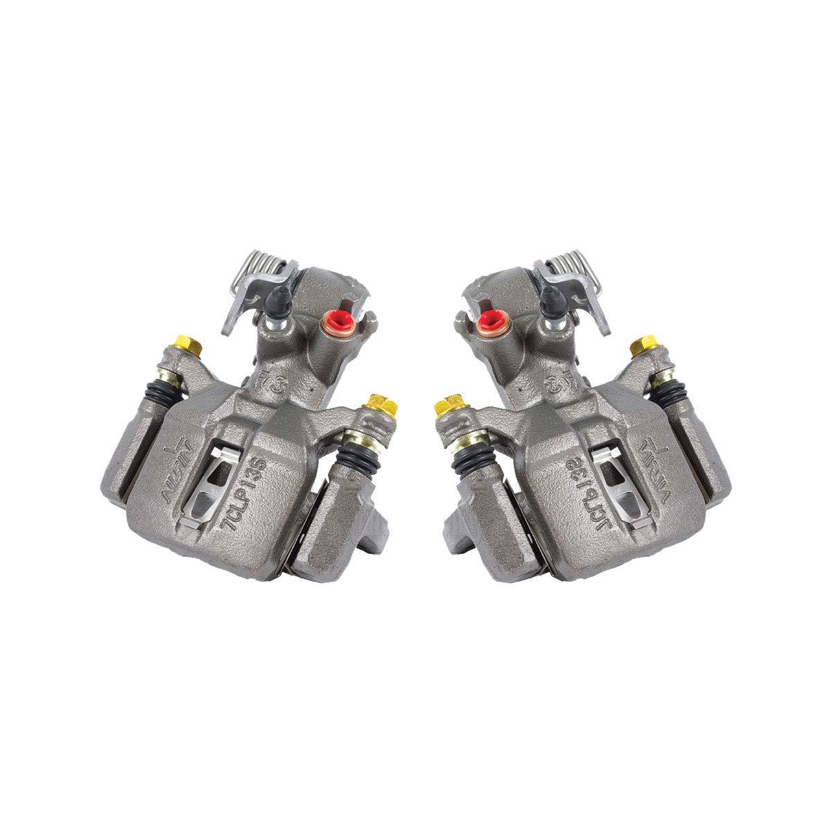 CKOE01000 [ 2 ] REAR Premium Grade OE Semi-Loaded Caliper Assembly Pair Set Callahan Brake Parts