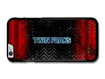 8d5bba82c8df89 Image Unavailable. Image not available for. Colour  Twin Peaks TV Series Logo  Red and Black Background Case for iPhone 6 Plus ...