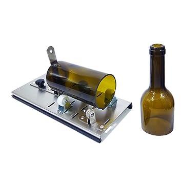 Cortador de cristal para botellas de vino, herramienta de corte de cristal para botellas de