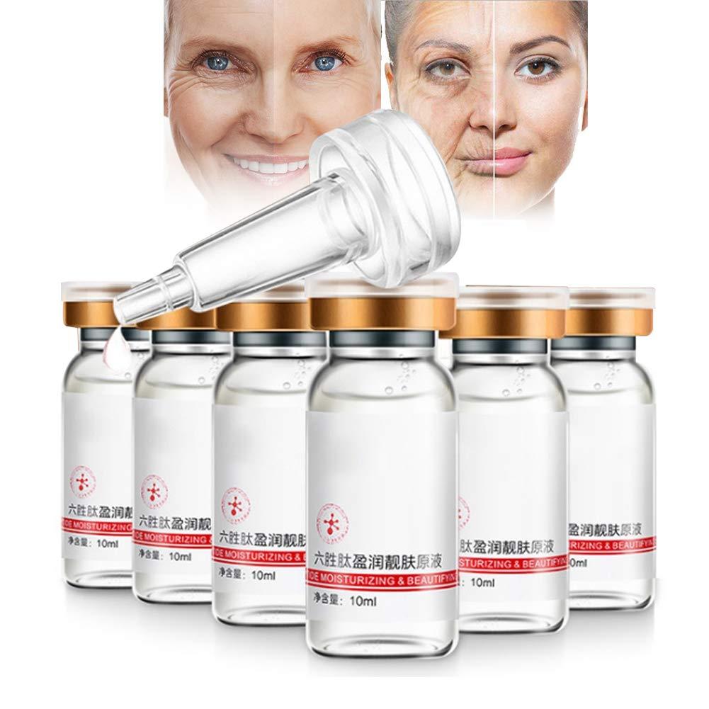 Hialurónico de suero antienvejecimiento La mejor esencia de crema agria antiedad para la piel, la cara, el escote y el cuerpo 10 ml: Amazon.es: Belleza