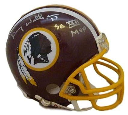 a66d6710 Image Unavailable. Image not available for. Color: Doug Williams  Autographed Washington Redskins Mini Helmet SB MVP JSA